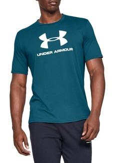 Under Armour Sportstyle Logo Cotton Blend Tee