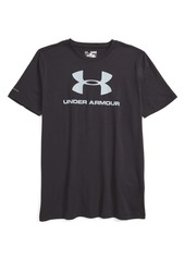 Under Armour Sportstyle Logo HeatGear® T-Shirt (Little Boys & Big Boys)