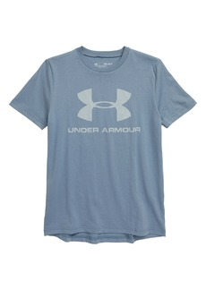 Under Armour Sportstyle Logo T-Shirt (Big Boys)