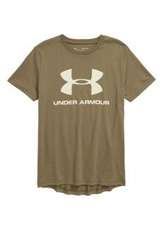 Under Armour Sportstyle Logo T-Shirt (Big Boys)