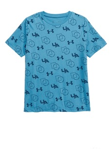 Under Armour Sportstyle Print T-Shirt (Big Boys)