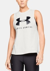 Under Armour Sportstyle Relaxed Logo Tank Top