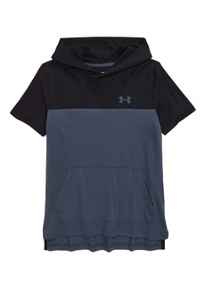 Under Armour Sportstyle Short Sleeve Hoodie (Big Boys)