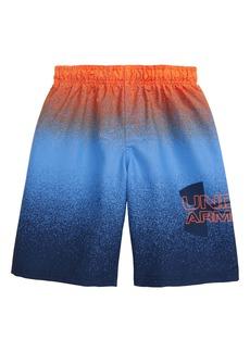 Under Armour Spray Logo Volley Swim Trunks (Big Boy)