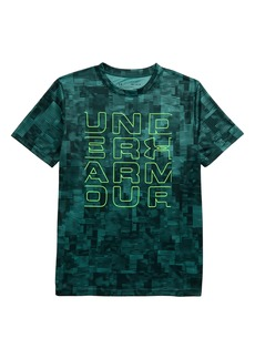 Under Armour Stacked Wordmark T-Shirt (Big Boys)