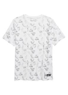 Under Armour Steph Curry Print Loose Fit HeatGear® T-Shirt (Big Boys)