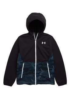 Under Armour Storm ColdGear® Soft Shell Hooded Jacket (Big Boys)