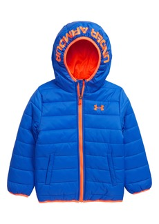 Under Armour Storm Pronto Water Repellent Hooded Puffer Jacket (Big Boys)