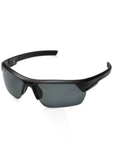 Under Armour Sunglasses Rectangular UA IGNITER 2.0 Storm (ANSI) Satin Black Frame/Gray Polarized Lens M/L