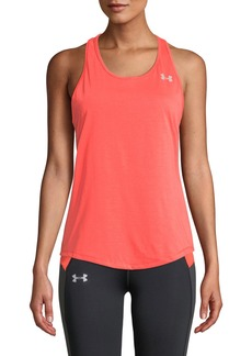 Under Armour Swyft Racerback Running Tank  Orange