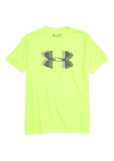 Under Armour Tech™ Logo T-Shirt (Big Boys)