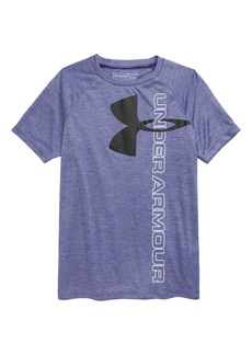 Under Armour Tech™ Split Logo Hybrid T-Shirt (Big Boy)