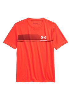 Under Armour Tech Stripe T-Shirt (Big Boy)