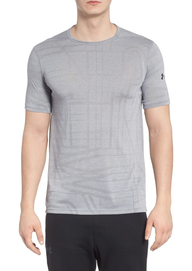 311ad9621e4 Under Armour Under Armour Threadborne Elite Crewneck T-Shirt Now $17.49