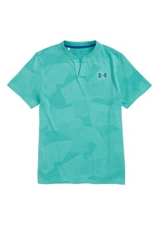Under Armour Threadborne HeatGear® Henley (Big Boys)