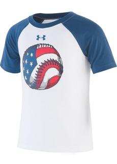 c59caab1 Under Armour Toddler Boys Baseball Quick-Dry Moisture-Wicking Logo T-Shirt