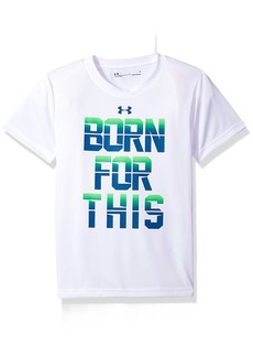 Under Armour Boys' Toddler Born for This Short Sleeve T-Shirt