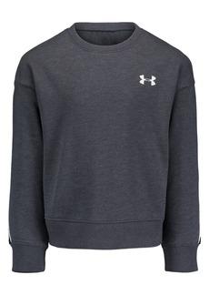 Under Armour Little Boys Colorblocked Logo Rival Fleece Sweatshirt