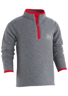 Under Armour Toddler Boys Heathered 1/4-Zip Fleece Shirt