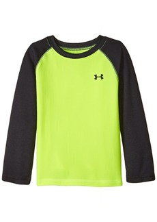 Under Armour Toddler Boys' Long Sleeve Tee Shirt High-Vis Yellow
