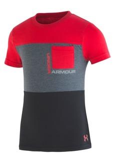 Under Armour Little Boys Pieced Pocket T-Shirt