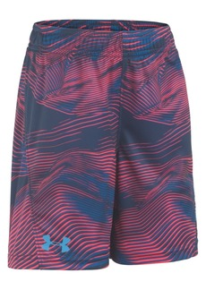 Under Armour Toddler Boys Ua Altitude Multi-Boost Loose-Fit Moisture-Wicking Abstract-Print Shorts