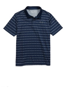Under Armour Tour Tips Stripe HeatGear® Polo (Big Boys)