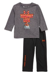 Under Armour Trophy T-Shirt and Pants Set (Baby Boys)