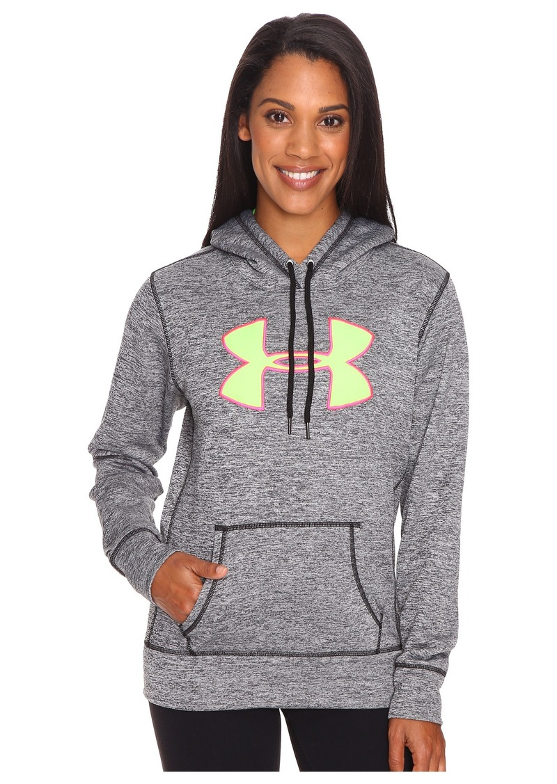 Under Armour UA Armour® Fleece Big Logo Hoodie - Twist