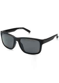 Under Armour UA Assist Square Sunglasses UA Assist Satin Black / Black Frame / Gray Lens M/L