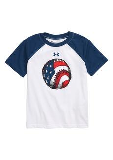 Under Armour UA Flag Baseball Raglan T-Shirt (Toddler Boys & Little Boys)