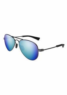 Under Armour Ua Getaway M Polarized Aviator Sunglasses