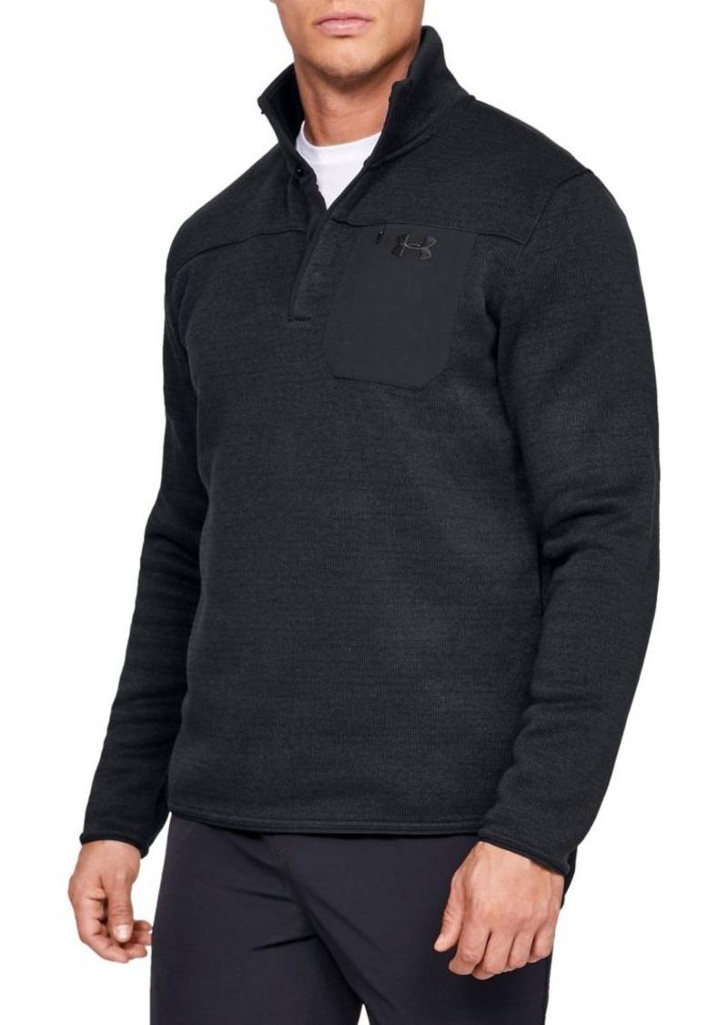 Under Armour UA Specialist Henley 2.0 Long-Sleeve Sweatshirt