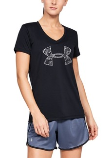 Under Armour Ua Tech Printed-Logo T-Shirt