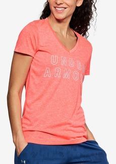 Under Armour Ua Tech Twist Logo T-Shirt