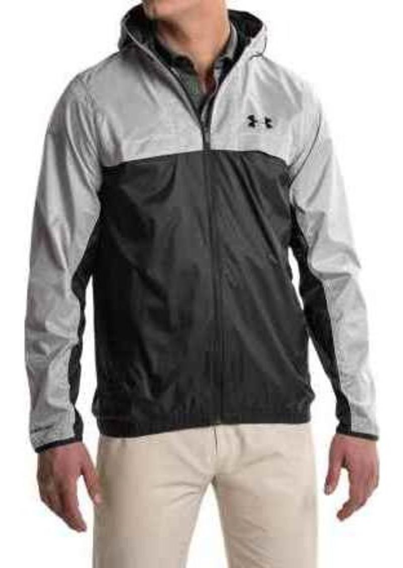 under armour windbreaker jacket