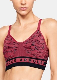 Under Armour Ua Vanish Seamless Jacquard Low-Support Sports Bra