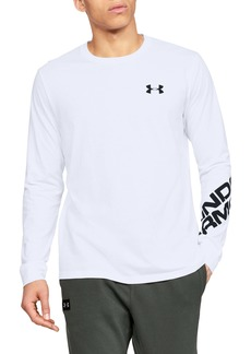 Under Armour UA Wordmark Long Sleeve Performance T-Shirt