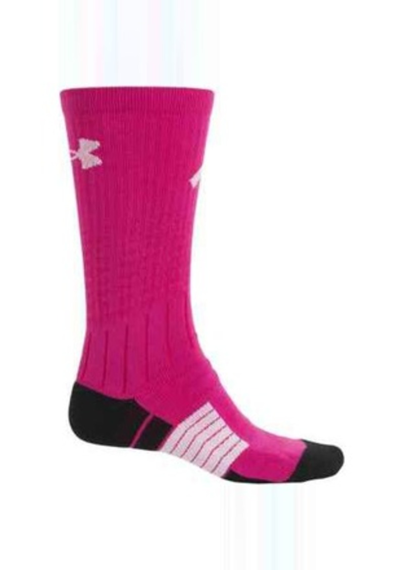 Under Armour Unrivaled Power In Pink® Socks   Crew (For Men)