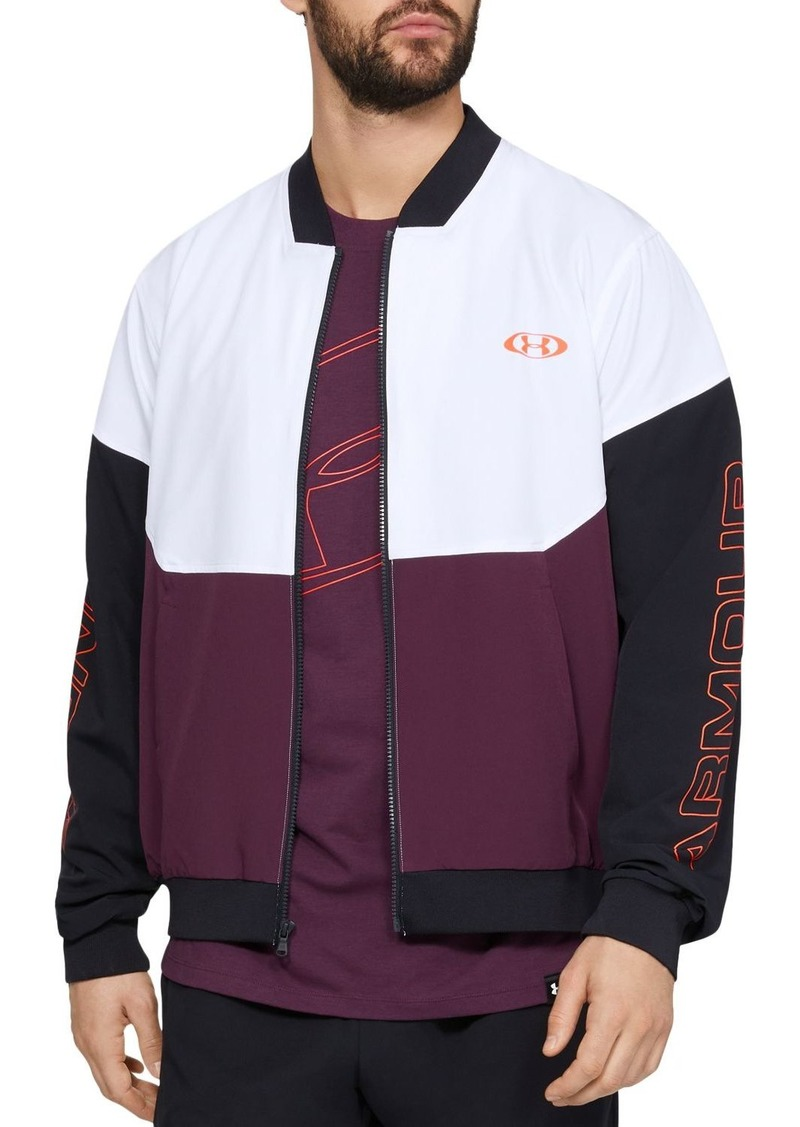 Under Armour Unstoppable 96 Regular Fit Bomber Jacket
