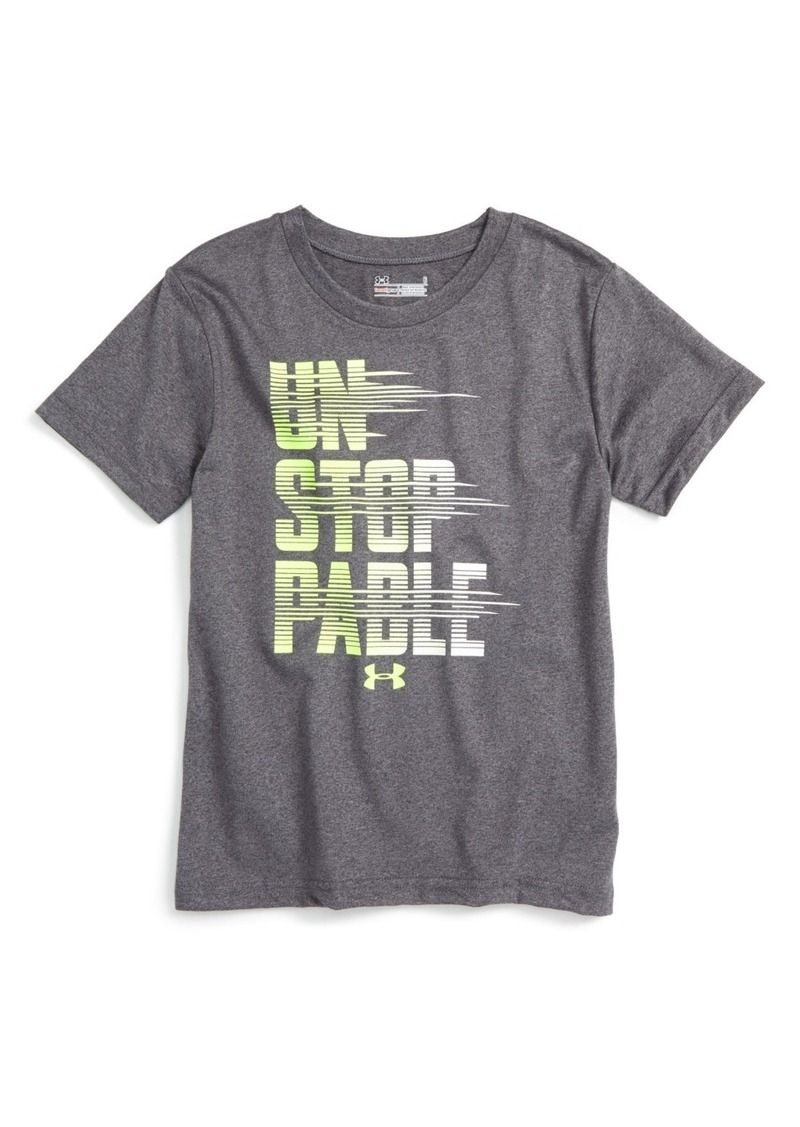 under armour shirts for boys. under armour unstoppable heatgear® t-shirt (toddler boys \u0026 little boys) shirts for