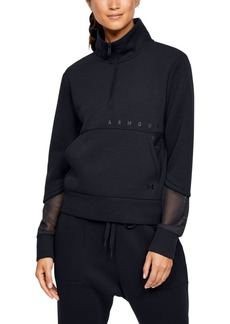 Under Armour Unstoppable Mock-Neck Half-Zip Top