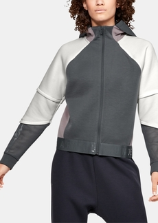 Under Armour Unstoppable Move Zip Cropped Hoodie