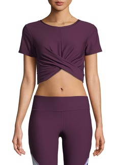 Under Armour Vanish BreatheLux Cross-Front Performance Crop Top