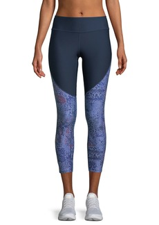 Under Armour Vanish-Print Cropped High-Rise Leggings