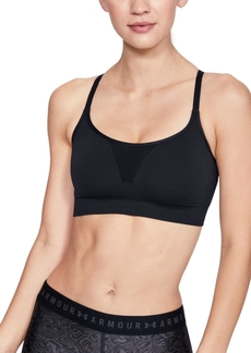 Under Armour Vanish Seamless Adjustable Low-Impact Sports Bra
