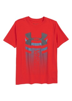 Under Armour Vertical Graphic T-Shirt (Big Boys)