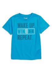 Under Armour Wake Up Win Repeat HeatGear® T-Shirt (Baby Boys)