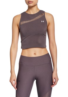 Under Armour Warrior Knit Crop Tank