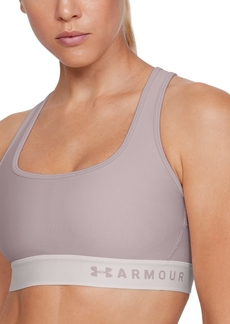 Under Armour Women's Armour Mid Crossback Sports Bra